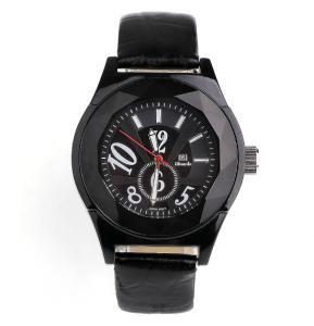 Ricardo Black Leather Analog Watch For Men - 111114