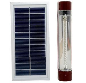 Saachi Portable Rechargeable 30-LED Emergency Light with Solar Panel - NL‐556