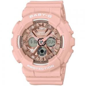 Baby-G Tandem Series Womens Watch, BA-130-4ADR, Pink