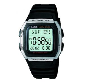 Casio W-96H-1AVDF  Digital Grey Dial  Watch For Men