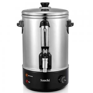 Saachi 10L Electric Water Boiler, Stainless Steel with Tap, NL-WB-7310