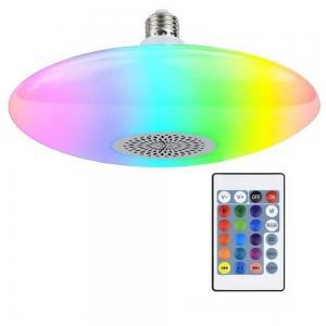 Bluetooth Music Bulb RGBW High Power 18W UFO Lamp Bluetooth Music UFO Lamp Intelligent 16-color Bulb