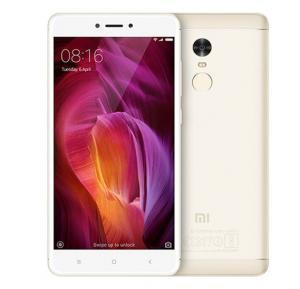 Xiaomi Redmi 5 Plus 4G Smartphone, Android 7.1.2, 5.99 Inch Display, 4GB RAM, 64GB Storage, Dual Camera, Dual SIM - Gold