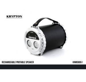 Krypton Rechargeable Portable Speaker - KNMS6051