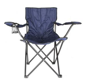 Foldable Beach And Garden Chair, BCI-3659- Dark Blue