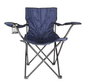 Foldable Beach And Garden Chair, BCI-3659- Dark Blue