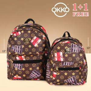Okko 2 Pieces Mochila Backpack for Teenagers 13 Inch and 10,OK33822