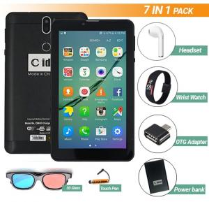 C Idea Android 7inch 4g Smart Tablet 3gb+16gb storage 7 in 1 Pack