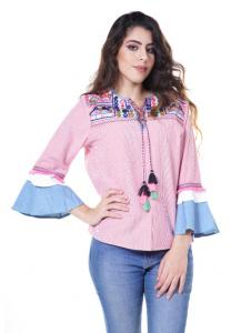 Womens Solid Top - 2313 - XL