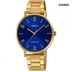 Casio LTP-VT01G-2BUDF Analog Watch For Women, Gold