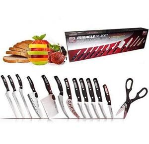 Miracle Blade complete 13pcs Knife Set, SC136