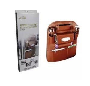 YIJUN Multifunctional Car Seat Storage Bag mx 8208 - Sand Brown