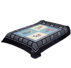 Solaron 2-Ply Layer Rachel Blanket Polyester Navy Blue  200 x 240centimeter