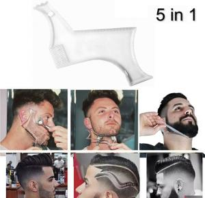 5 in 1 Personal Beard Grooming and Hair Styling Comb
