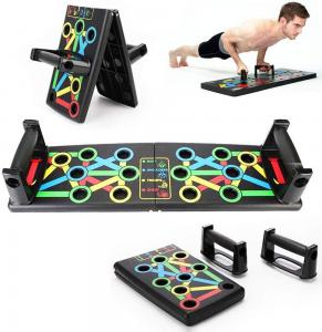 Push Up Board 13-in-1 Workout Board Portable Push Up Board Training System for Men Women Home Fitness Training
