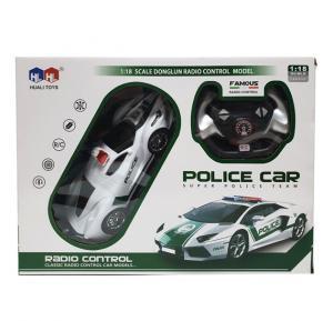 Four Way Remote Control Police Car