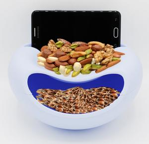 Nuts Bin with Mobile holder