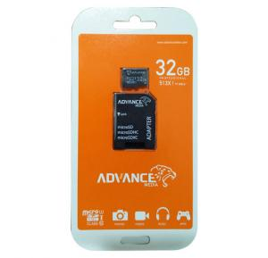 Advance Media 32GB Professional MicroSD Card