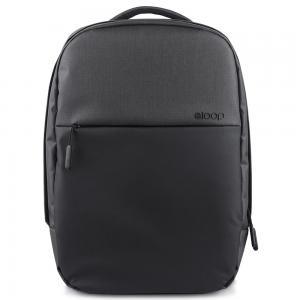 Eloop B1-D001 City B1 Waterproof 17 inch Laptop Backpack, Black