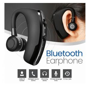 Wireless V9 CSR V4.0 Bluetooth Headset Earphone Hands-free with Mic, Black