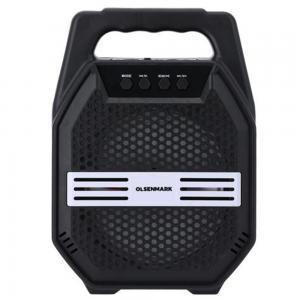 Olsenmark OMMS1281 Portable Bluetooth Speaker with DJ LED Lights