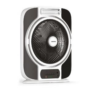 Geepas 12 Inch Rechargeable Fan GF989, With 16 Pcs Hi power SMD LED