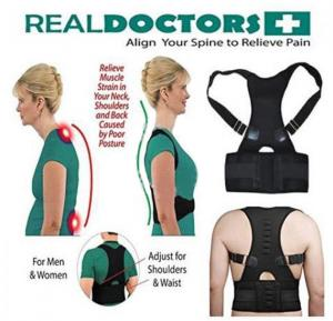 T&F Real Doctor Plus Align Your Spine to Relieve Pain For Men and Women - L