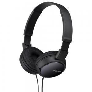 Sony MDRZX110LP-B On-the-Ear Light-Weight Headphones Without Mic, Black