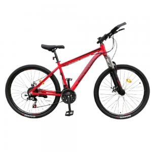 Shimano BT Bicycle with Aluminum Frame, Size 27, Red