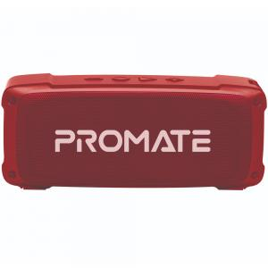 Promate Bluetooth Speaker with Mic, 6W HD Sound, 3H Playtime, FM, AUX, USB Port, SD Card Slot, OutBeat, Maroon