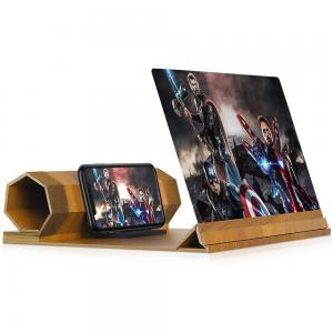 Foldable Phone Stand with Screen 12 Magnifier For Smartphone