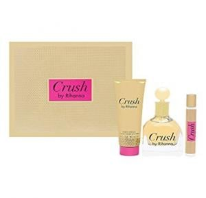 Crush by Rihanna  Women EDP 100ml + 90ml Body Lotion + 6ml Roller ball