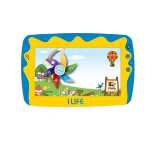 i-Life Kids Tab, 7'  WiFi, 512MB, 8GB, 4.2 Quad Core 1.2 ghz - Blue