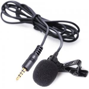 Boya BY-LM10 Deluxe Lavalier Lapel Clip-on Omnidirectional Condenser Microphone