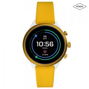 Fossil Smartwatch For Women FTW6053, Yellow