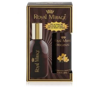 Royal Mirage Original 2 in 1 Gift Set, 120 ml Spray Plus 150 ml Body Spray