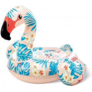 Intex Inflatable Tropical Flamingo Ride On, 57559