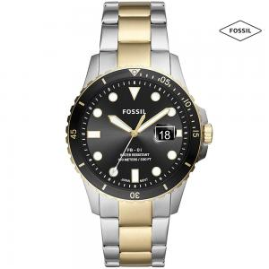 Fossil SP/FS5653 Analog Watch For Men, Silver