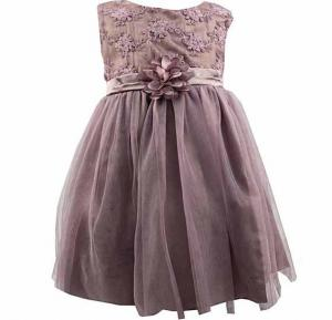 Amigo 7 Children Summer Shawl Princess Dress Light Purple -6-9M - 806