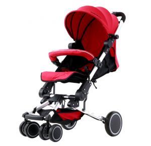 Baby Plus Stroller Red, - BP7579