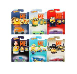 Hot Wheels Themed Car  - Minions Asst Dwf12