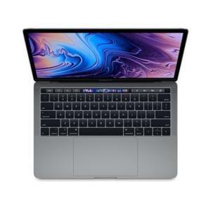 Apple MacBook Pro Silver i7 8th Gen. 2.2 6Core 16GB 256GB Radeon PRO 555X with 4GB TB & ID Retina Display with TT 15 Inch - English,MR962 LL/A