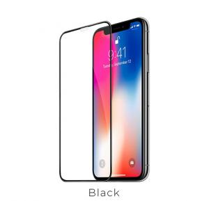 Nano 3D full screen edges protection tempered glass for iPhoneXS Max(A12)