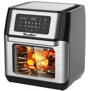 Meenumix 10.0Ltr Digital Air Fry Oven with Convection 1500W, MAF700, Silver Black