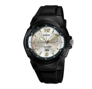 Casio MW-600F-7AVDF Youth Series Analog White Dial Mens Watch