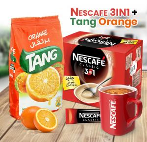 Bundle offer! Buy Tang Orange Refill Pack 900g+Nescafe 3 in1 My Cup Stick 20g x 24