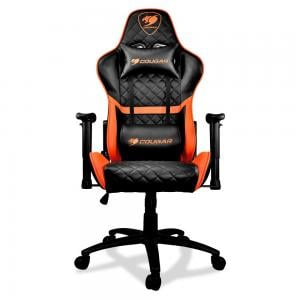 Cougar Armor One Gaming Chair Black And Orange, 3MARONXB-0001