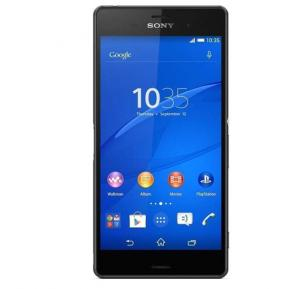Sony Xperia Z3 Compact 4G Smartphone, 4.6 Inch Display, Android OS, 2GB RAM, 16GB Storage, Single SIM, Dual Camera - Black