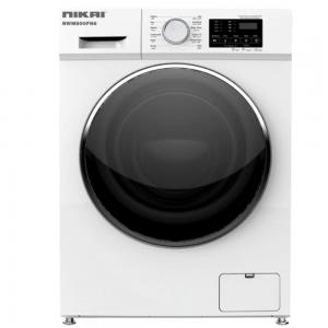 Nikai 8Kg Fully Automatic Front Loading Washing Machine White, NWM800FN6