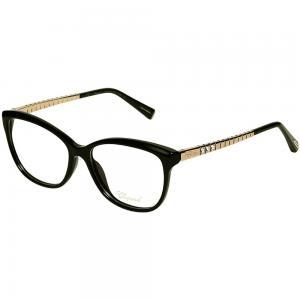 Chopard VCH243S Black Oval Women Eyeglasses
